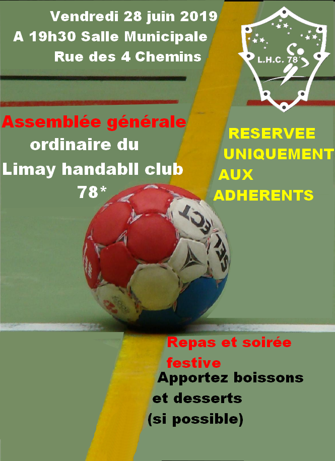 AG 2019 annonce